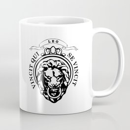 The Lion Conqueror  Coffee Mug
