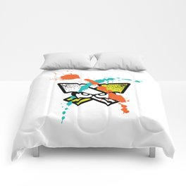 Splatoon - Turf Wars 4 Comforters