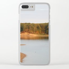 Wolf Creek Overlook Clear iPhone Case