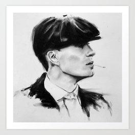 Tommy Shelby (Peaky blinders) Art Print