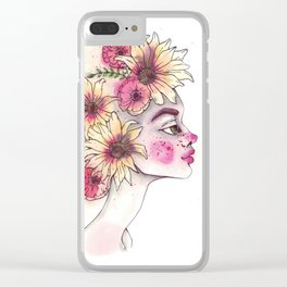 Spring is in the air Clear iPhone Case