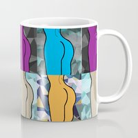 booty Mugs featuring Booty-ful  by MischievousDesign