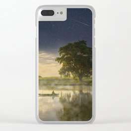 Magic morning Clear iPhone Case