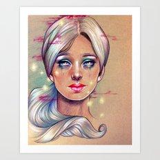 Sylvia's Gone Art Print