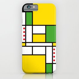 Mondrian - Bycicle iPhone Case
