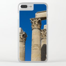 Athens,Greece Clear iPhone Case