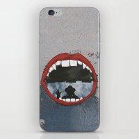 mouth iPhone & iPod Skins featuring Mouth  by Eliska Podzimkova