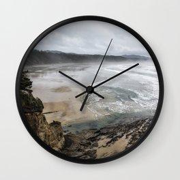 Lookout Point near Otter Rock Wall Clock