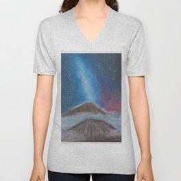 Volcano Unisex V-Neck