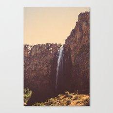 High Desert Waterfall Canvas Print
