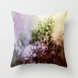 bouquet with atmosphere        http://society6.com/clemm?promo=X9B3VVZDM7J6 Throw Pillow