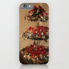 3-Tier Christmas Display iPhone Case