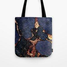 INDIGO & GOLD GEMSTONE Tote Bag