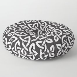 Viking Pattern | Warrior Valknut Norse Mythology Floor Pillow