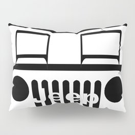 Jeep of road Pillow Sham