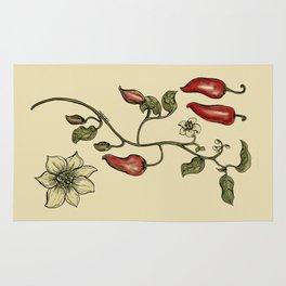 Jalapeno Botanical Rug