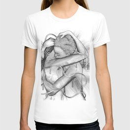 Surrounded by Your Love b&w T-shirt