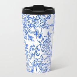 Tea Time Reversed Travel Mug