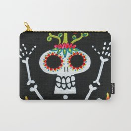 Happy Skelly with Tree Carry-All Pouch