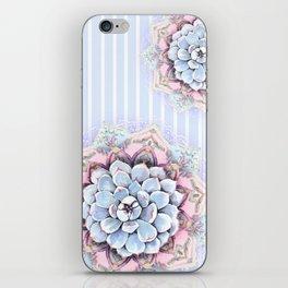 succulent mandala iPhone Skin