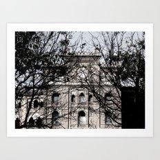 Plaza de Toros Art Print