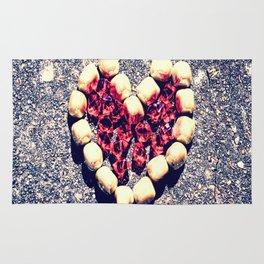 Rock Heart Rug