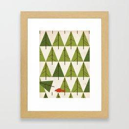 Justa Beaver.  Framed Art Print