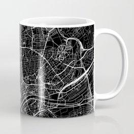 Frankfurt Black Map Coffee Mug