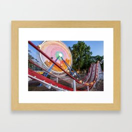Point of No Return Framed Art Print