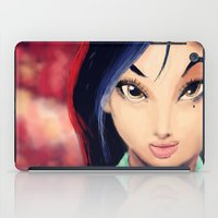 mulan iPad Cases featuring Mulan by tgronberg