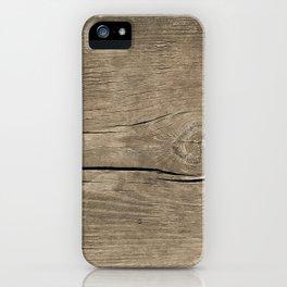 Vintage Wood iPhone Case