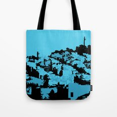 Telegraph Hill Print Tote Bag