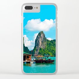 Halong Bay Clear iPhone Case