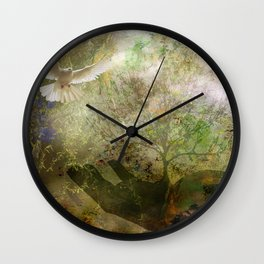 Trees For Peace Wall Clock