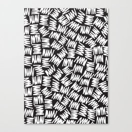 Zig Zag 02 Canvas Print