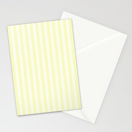 Melo Yellow Stripe Stationery Cards