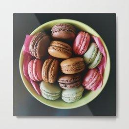 Macaron Bowl Metal Print
