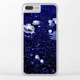 Jellyfish 3 Clear iPhone Case