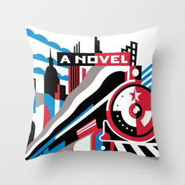 The Red Arrow Throw Pillow