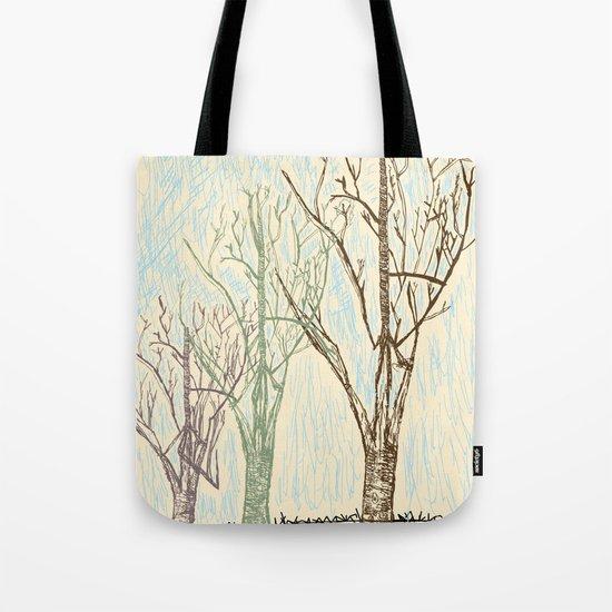 A Winters Sketch Tote Bag