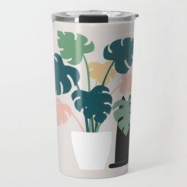 Cat and Plant 21: Leaf Me Alone Travel Mug