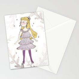 Luna at Christmas Stationery Cards