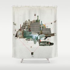 Collage City Mix 2 Shower Curtain
