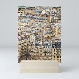 Parisian Rooftops Mini Art Print