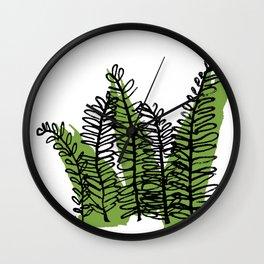 Serengeti Safari - Acacia Wall Clock