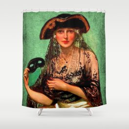 Pirate Jenny Shower Curtain