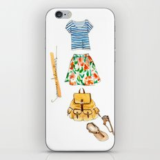 Summer Adventures iPhone & iPod Skin