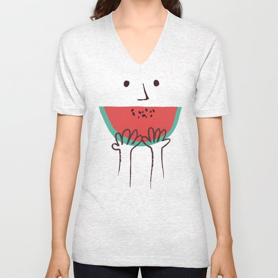 Summer smile Unisex V-Neck