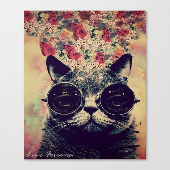 The lovecat! Canvas Print