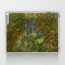 Old stone wall with moss Laptop & iPad Skin